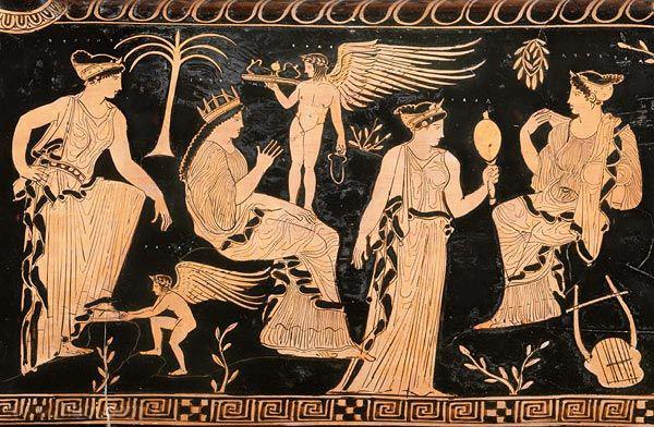 Eurynomé et Ophion