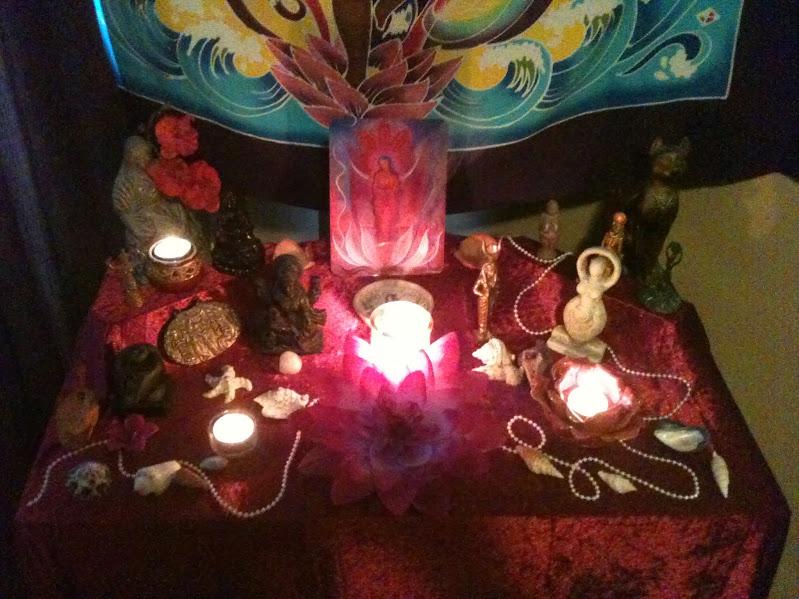 Le sanctuaire déaniste