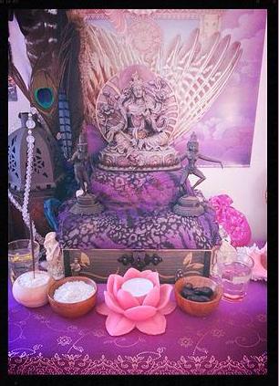 Créer un autel à Tara
